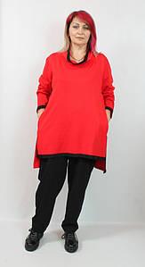 Турецкий женский прогулочный костюм больших размеров 54-64