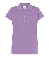 Сиреневые поло футболки женские JHK POLO REGULAR