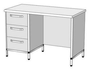 Стол лабораторный СЛ-3 (1200x600x800)