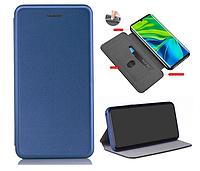 Чехол книжка Level для Xiaomi Mi Note 10 Blue