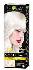 Крем-краска для волос La Fabelo №12.0 Платиновый белый блонд Белое золото Италия