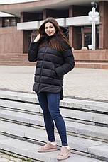 Куртка женская зимняя Monica Pobedov (черная), фото 2