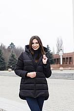 Куртка женская зимняя Monica Pobedov (черная), фото 3
