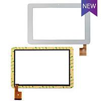 Тачскрин для планшета China-Tablet PC 10.1 SANEI N10 FOR AMPE A10 TCP0187, белый, touch screen сенсорный экран