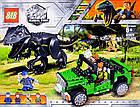 Конструктор Побег Парк Юрского периода 82029 (Аналог Lego Jurassic World) 277 деталей, фото 5