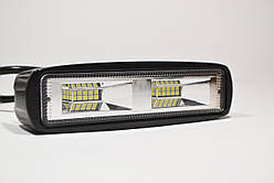 Светодиодная LED фара 48Вт  (светодиоды 3w x16шт) Широкий луч