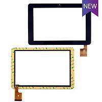 Тачскрин для планшета China-Tablet PC 10.1 SANEI N10 FOR AMPE A10 TCP0187, черный touch screen сенсорный экран