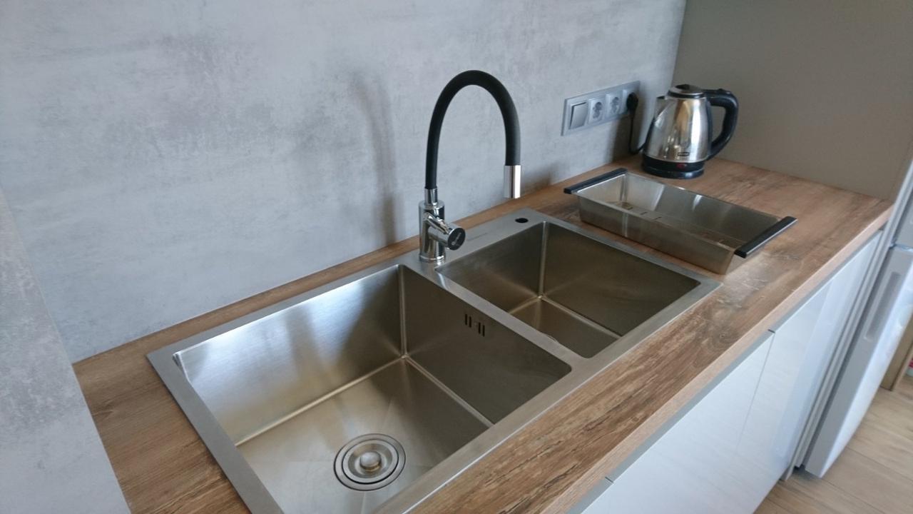 Кухонная мойка Germece HANDMADE 7541 HD-S001 двойная стальная