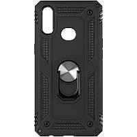 Чехол противоударный Honor Hard Defence для Xiaomi Redmi Note 9 Black
