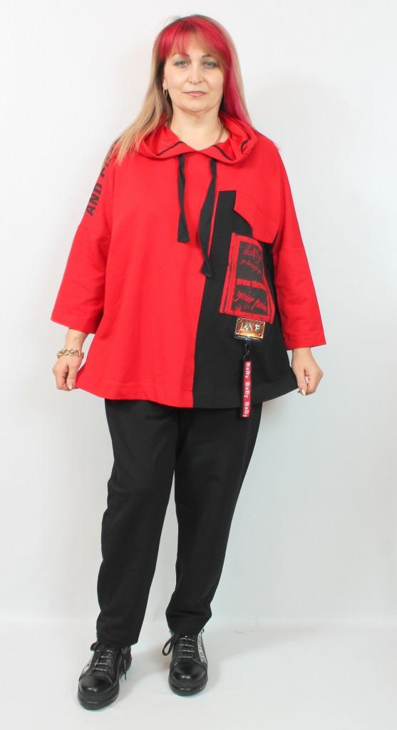 Турецкий женский прогулочный костюм больших размеров 54-66