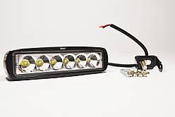 Дополнительная светодиодная (LED) фара, дальний свет, 18Вт,