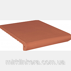 Клинкерная ступень King Klinker Античная гладкая Ruby-red (01)