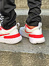 Кросівки чоловічі Nike React White Red, фото 9