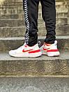 Кросівки чоловічі Nike React White Red, фото 10