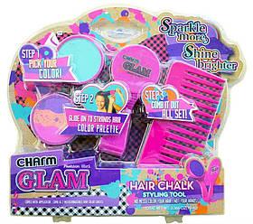 Детский набор косметики Мелки для волос   Набор аксессуары, расческа