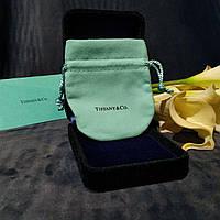 Мешочек в стиле Tiffany&Co. бирюзовый