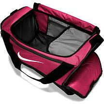 Сумка тренувальна спортивна Nike Brasilia Small 41L BA5957-666 Рожевий, фото 3