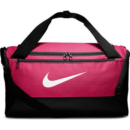 Сумка тренувальна спортивна Nike Brasilia Small 41L BA5957-666 Рожевий, фото 2