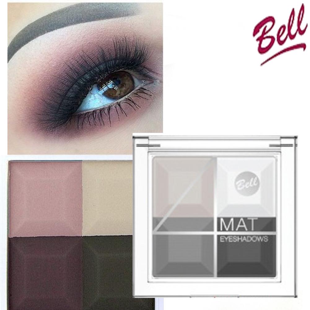 Тени для век BELL 4 Mat Eyeshadows