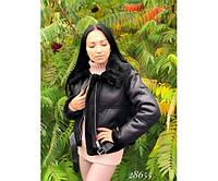 Дубленка короткая женская, фото 1