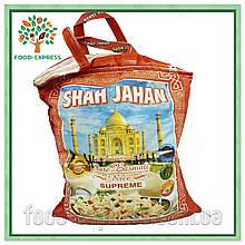 Рис Басмати Премиум кремовый SHAH JAHAN пропаренный, 1кг