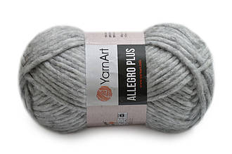YarnArt Alegro Plus, Светло-серый №706