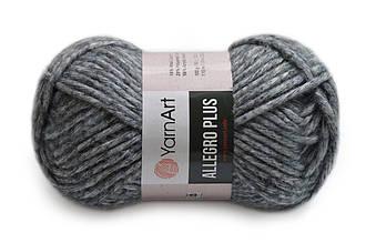 YarnArt Alegro Plus, Темно-серый №707