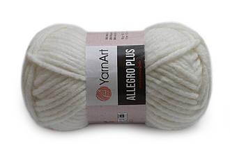 YarnArt Alegro Plus, Белый №700
