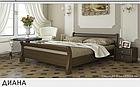 Двоспальні дерев'яні ліжка