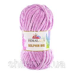 Пряжа велюрова Dolphin Big, Лавандовий колір