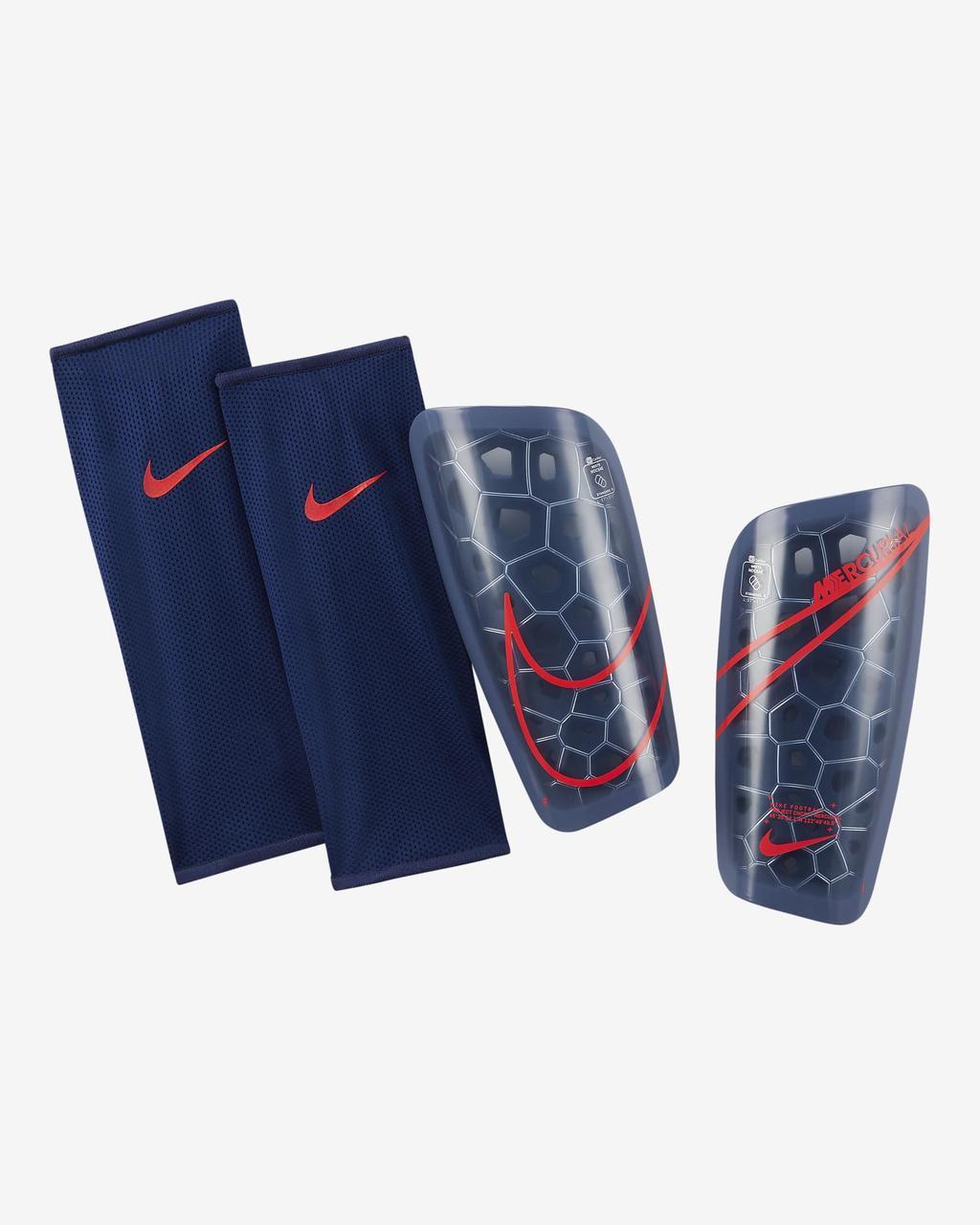 Щитки футбольные Nike Mercurial Lite SP2120-430 Синий