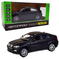 """Машина метал 7860 """"Автопром"""" 1:32 BMW X6 звук, свет"""