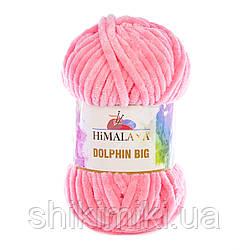 Пряжа плюшевая Dolphin Big, цвет Коралл