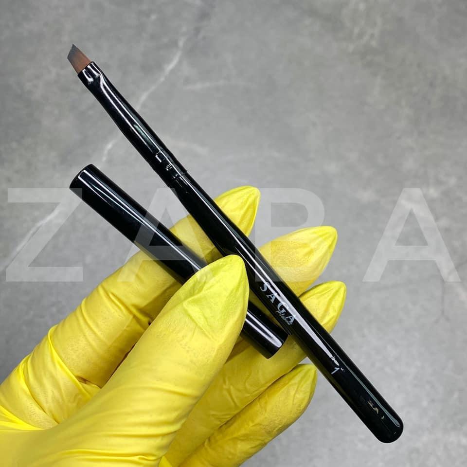 Кисть SP-1, скошенная, для росписи, для бровей