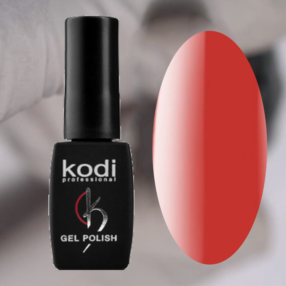 Гель лак Kodi Professional RED 8 мл 040 Кораллово-красный