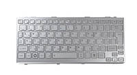 Клавиатура ноутбука TOSHIBA Satellite T210 series серебро UA (NSK-TJ301/9Z.N2P82.301/PK130CN1A00)