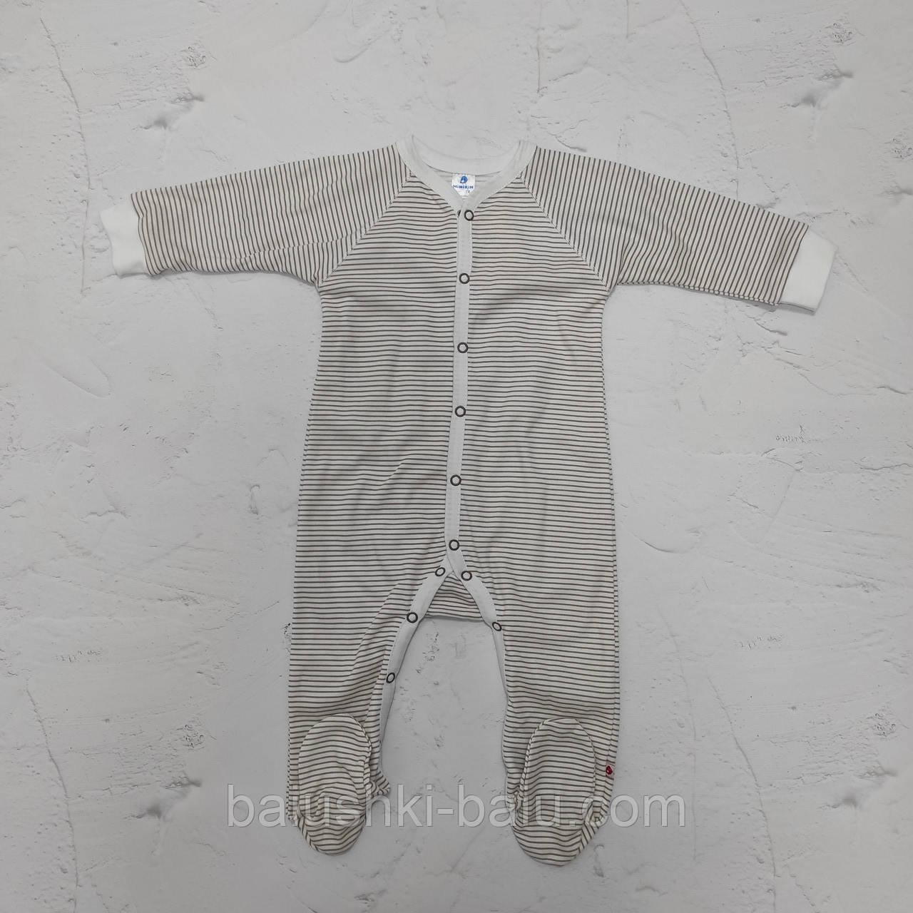 Комбинезон трикотажный для новорожденного малыша, р. 74