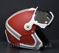Шлем горнолыжный с визором HMR Heritage H3 Hugo Red M/S 254