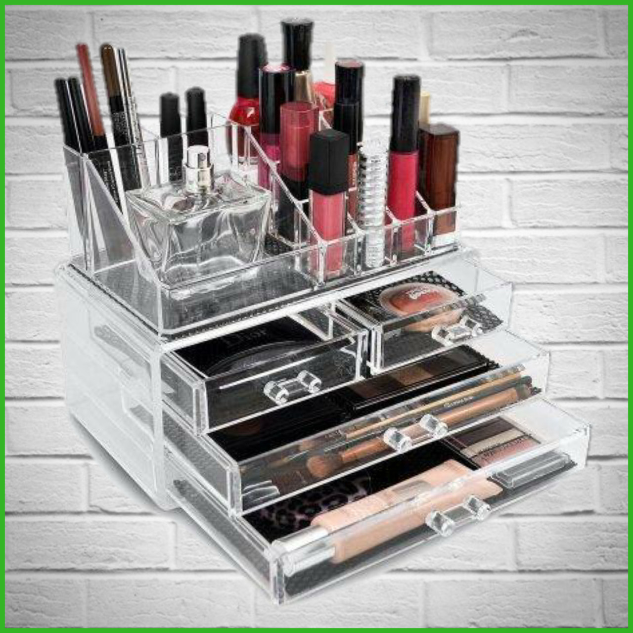 Органайзер (бокс) для косметики Cosmetic Storage Box (акриловый)