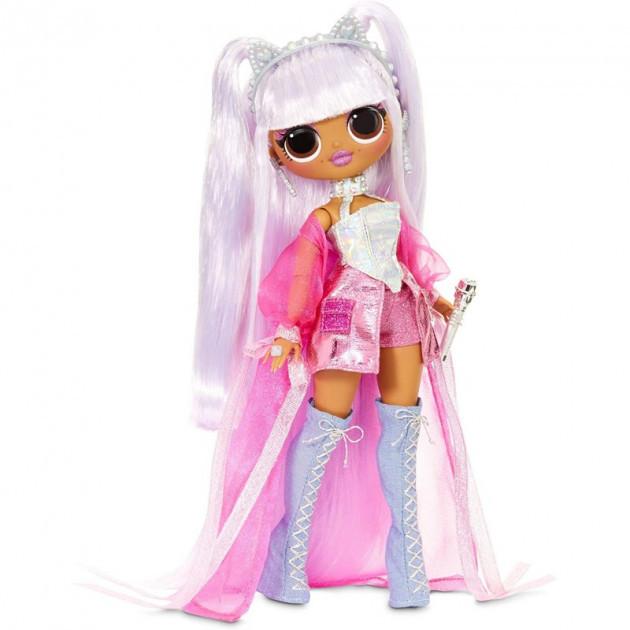 Кукла  LOL Surprise OMG Remix Kitty K ЛОЛ Сюрпрайз Ремикс Королева Китти (567240) УЦЕНКА