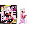Игровой набор с куклой LOL Surprise OMG Remix Kitty K ЛОЛ Сюрпрайз Ремикс Королева Китти (567240) оригинал, фото 6
