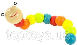 Розвивальна іграшка Lucy Leo Гусениця (LL164)