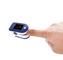 Электронный ПУЛЬСОМЕТР пульс-оксиметр на палец LK87