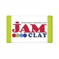 Полимерная Глина Jam Clay, Цвет: Зеленое Яблкуо, Брикет 20г, 1 шт