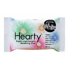 Полимерная Глина Самозатвердевающая Hearty, Цвет: Белый, Брикет 50г, 1 шт