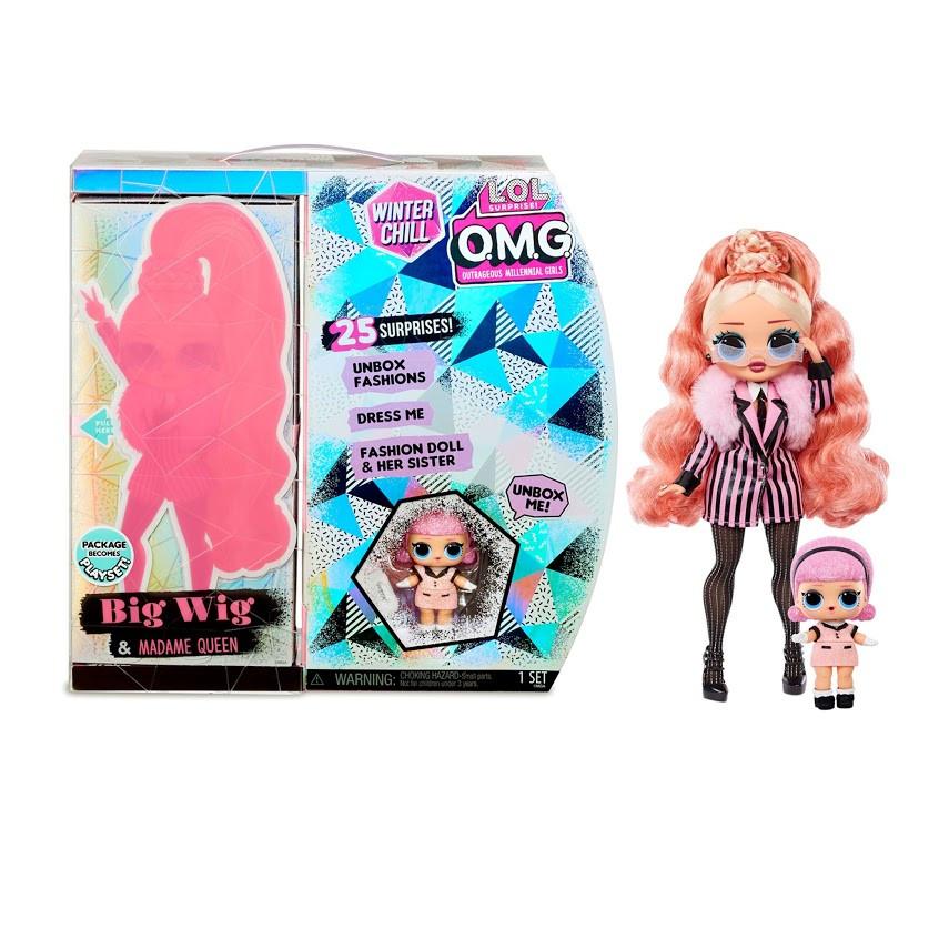 Ігровий набір з лялькою L. O. L. SURPRISE! серії O. M. G Winter Chill – Леді Стайл 570264