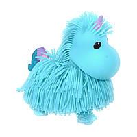 Интерактивная игрушка Jiggly Pup - Волшебный единорог голубой, фото 1
