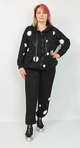 Турецкий женский теплый костюм больших размеров 58-64