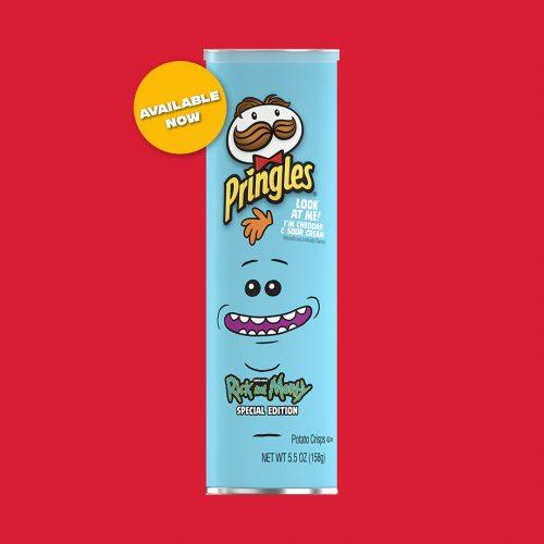 Чипсы Pringles Rick and Morty Cheddar Sour Cream 158 g