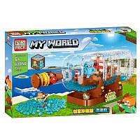 Конструктор My World  «Корабль в бутылке», 897 деталей., фото 1